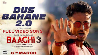 Dus Bahane 2.0 - Baaghi 3 Full HD Video