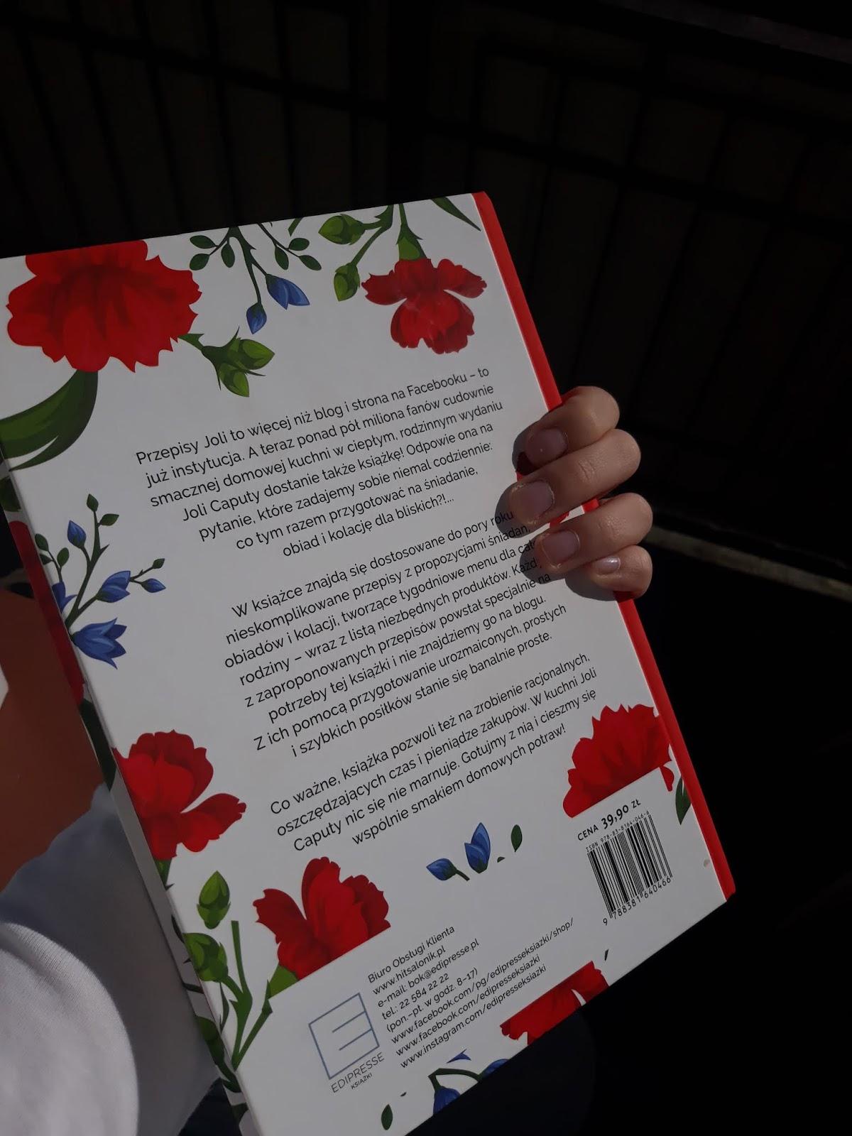 Bookparadise Przepisy Joli Prawdziwie Domowa Kuchnia Jola Caputa
