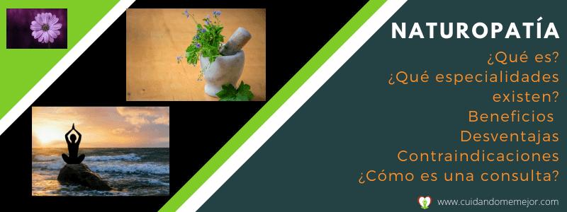 qué es la naturopatia