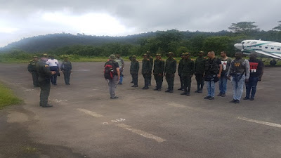 La Policía Nacional fortalece la seguridad en Bahía Solano