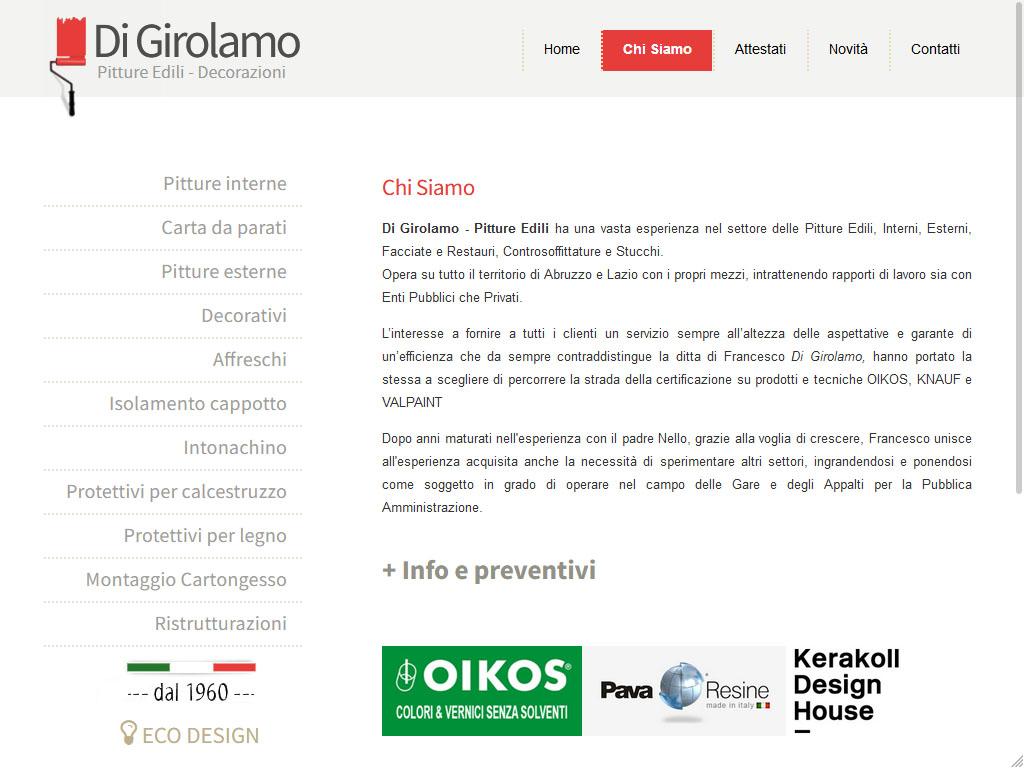 Pitture Edili - Di Girolamo
