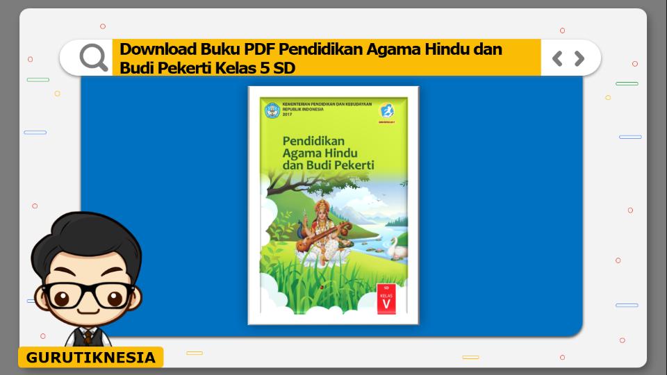download buku pdf pendidikan agama hindu dan budi pekerti kelas 5 sd