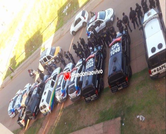 ORGULHO DO MADEIRA: Membro do CV é preso por tráfico de drogas durante operação em conjunto