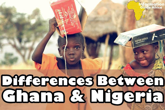7 Differences Between Life In Ghana Compared To Life In Nigeria