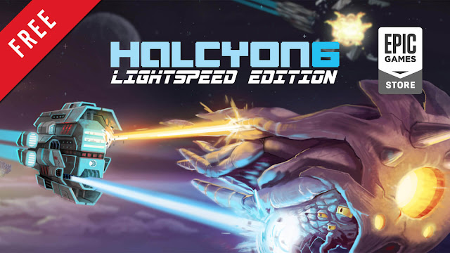 halcyon 6 starbase commander lightspeed Edition free pc game epic games store 2016 turn-based strategy tactical role-playing game massive damage inc