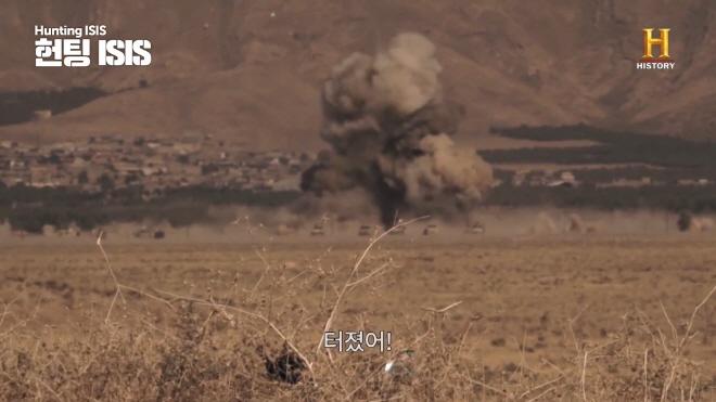 눈 앞에서 터진 차량 폭탄테러