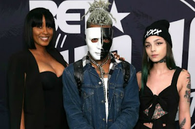 XXX Tentacion with his mother and sister