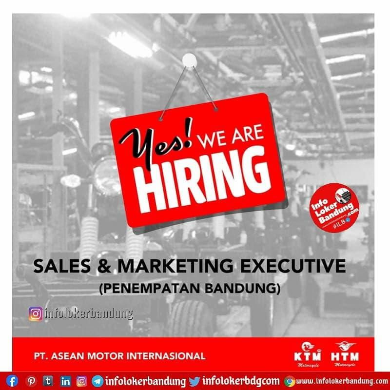 Lowongan Kerja Sales & Marketing Executive PT. Asean Motor International Bandung Juni 2021