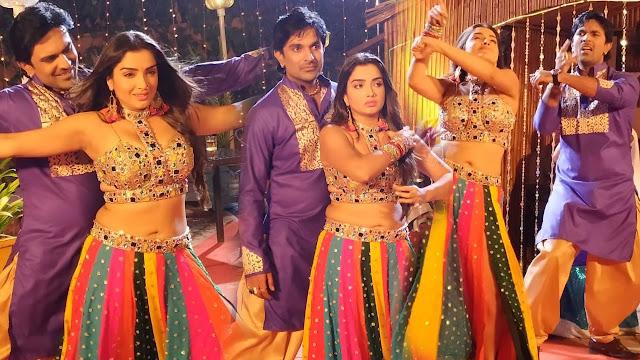 आम्रपाली दुबे के ठुमके साथ पूरी हुई फिल्म 'काजल' की शूटिंग