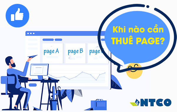 cho thue page facebook