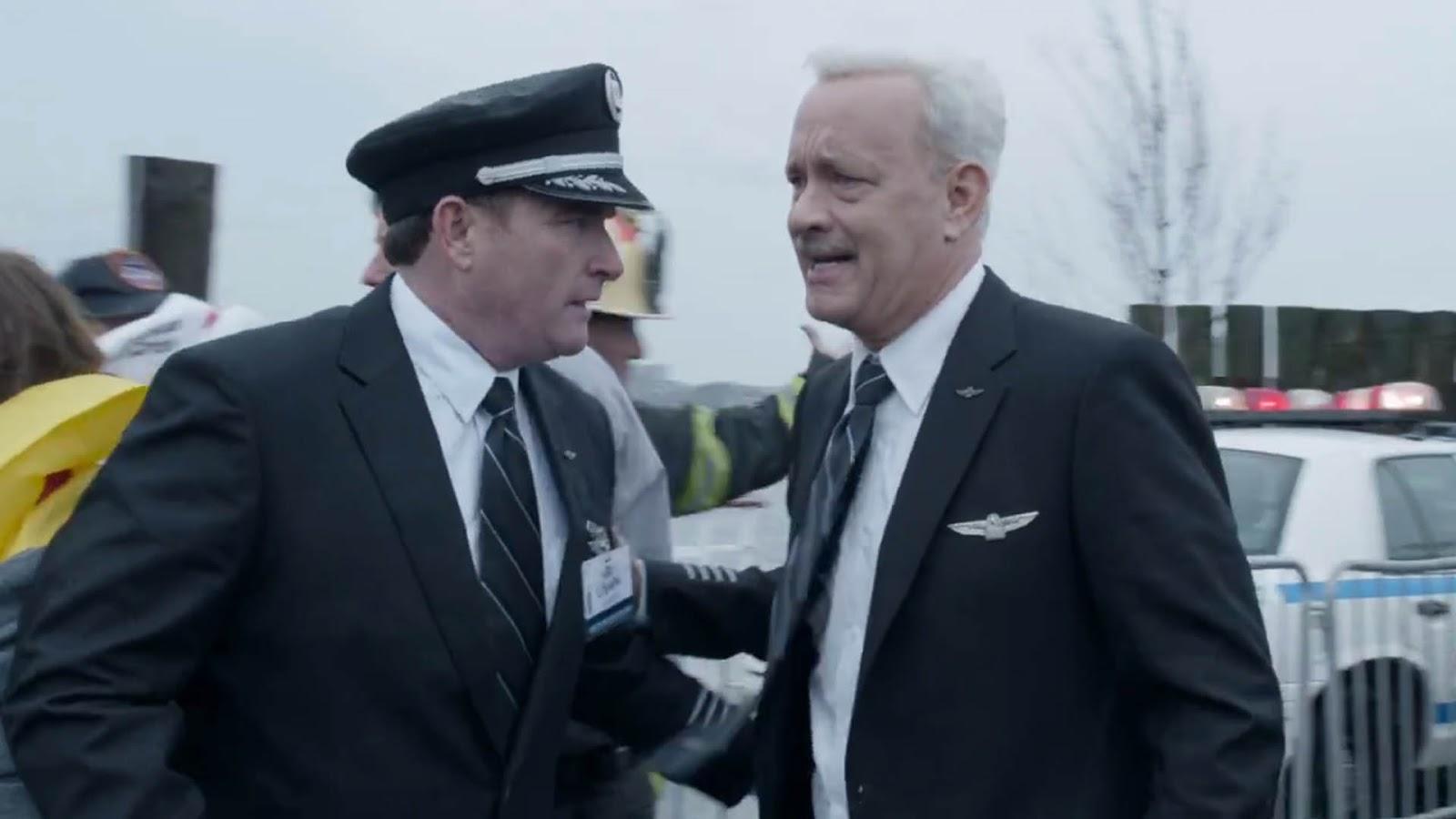 """Tom Hanks em trailer inédito da cinebiografia """"Sully: O Herói do Rio Hudson"""""""