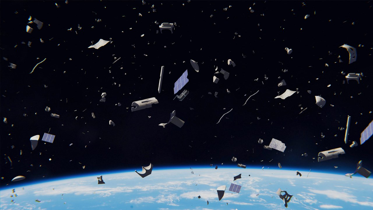 Mapa do Lixo Espacial identifica 200 'bombas-relógio' na órbita da Terra