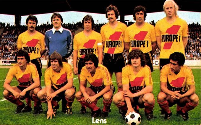 R.C LENS 1977-78.