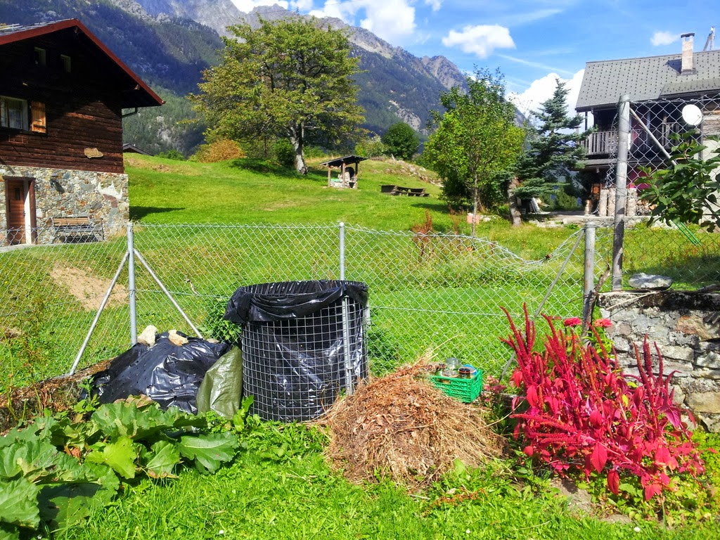 Le potager d 39 andr e sept 2013 compost biodynamique en for Jardin 2 montagnes