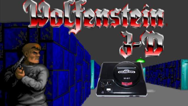 Wolfenstein 3d sega megadrive