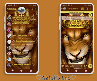 Lion King Theme For YOWhatsApp & Fouad WhatsApp By Natalia Luz