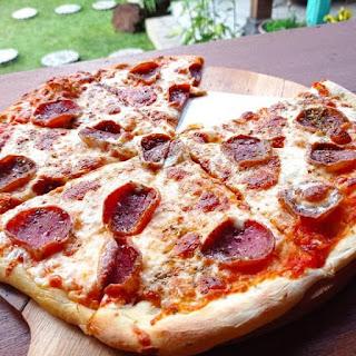 Satu slice pizza tidak akan cukup