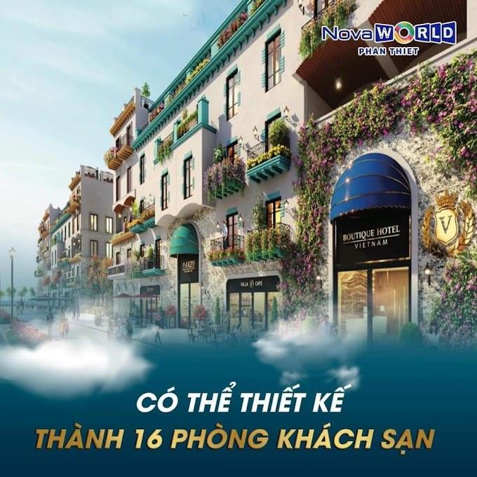 Boutique Hotel dòng bất động sản mới nhất tại Nova World Phan Thiết