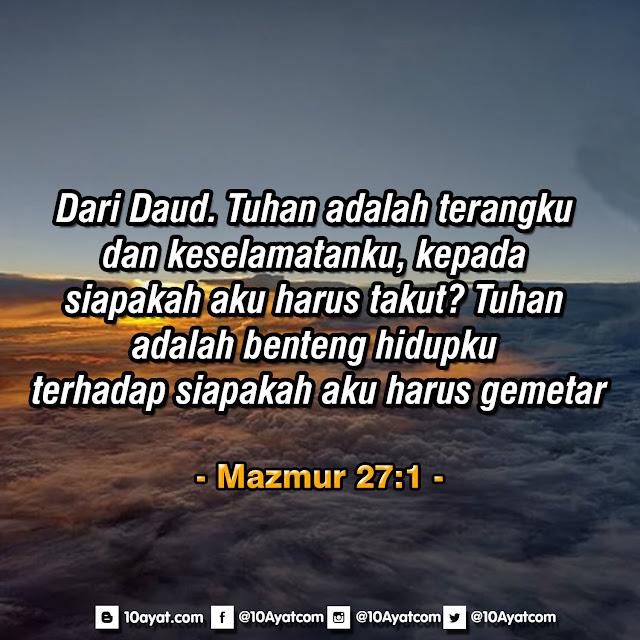 Mazmur 27:1
