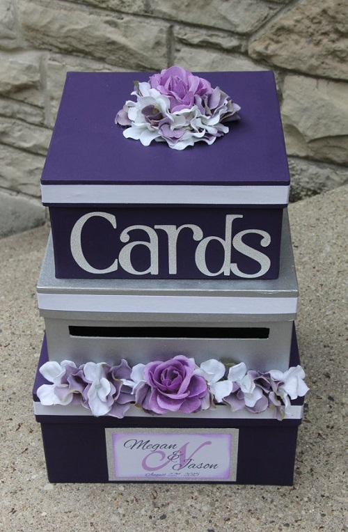 How To Decorate A Wedding Card Box