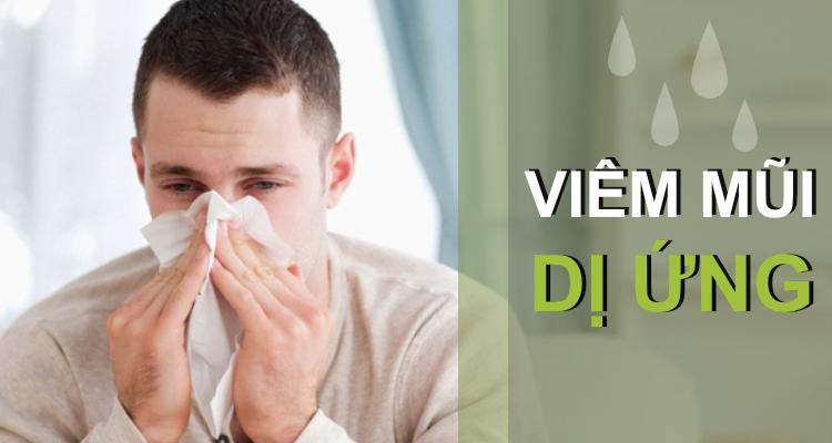 Dấu hiệu bệnh viêm mũi dị ứng xoang999.com