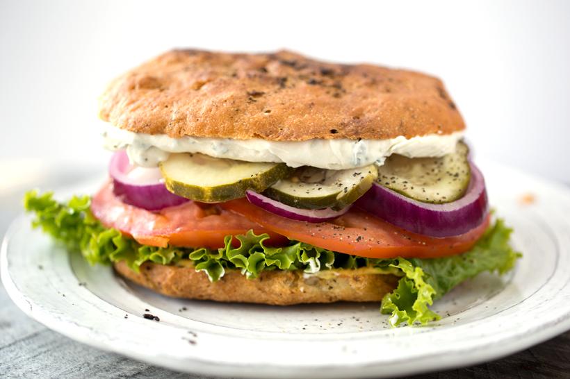 Simple Vegan Sandwich.