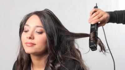 Cara Alami Meluruskan Rambut Keriting