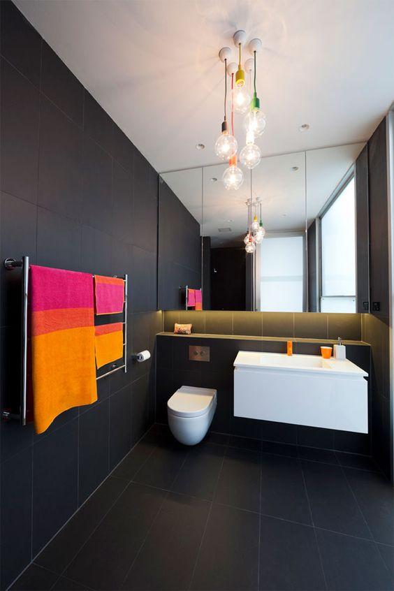 Bombillas para decorar tu baño