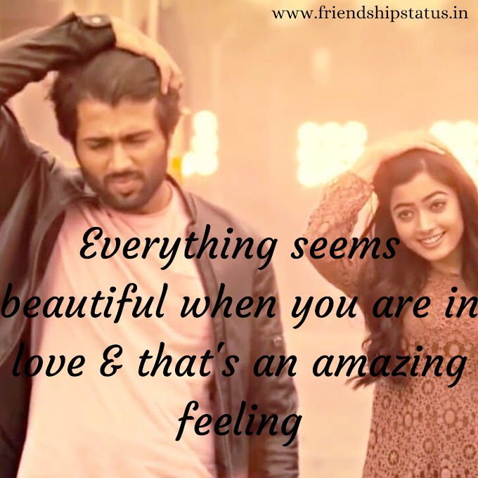 Best 50 Beautiful Feelings of Love Quotes to Your Love