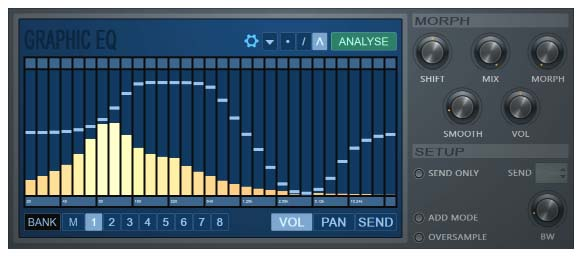 EQUO - Morphing Graphic Equalizer Plugin Function on FL Studio (6