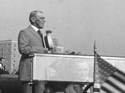 अमेरिकी राष्ट्रपति वुडरो विल्सन