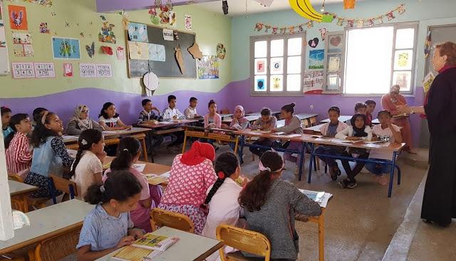 أكادير : المعهد الفرنسي ينظم ورشات فنية وثقافية بمناسبة ربيع الكتاب بمدرسة الأطلس ايت الموذن