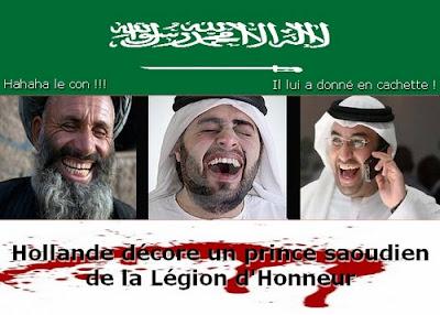 Hollande décore en cachette