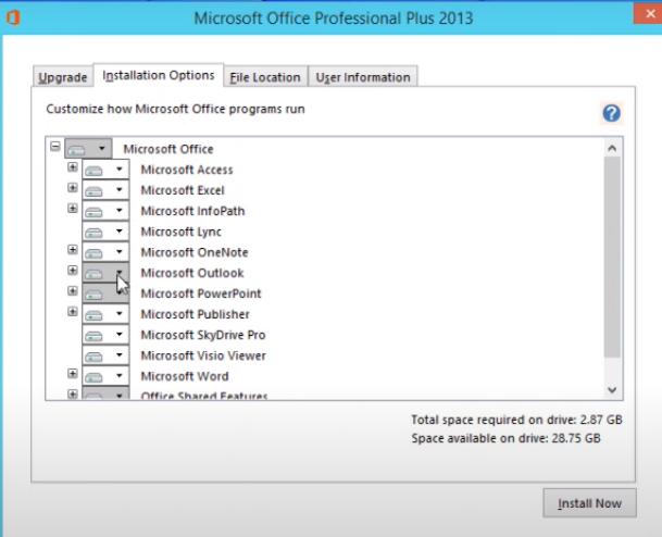 Hướng dẫn cài đặt Word 2013 Professional Plus chi tiết thành công e