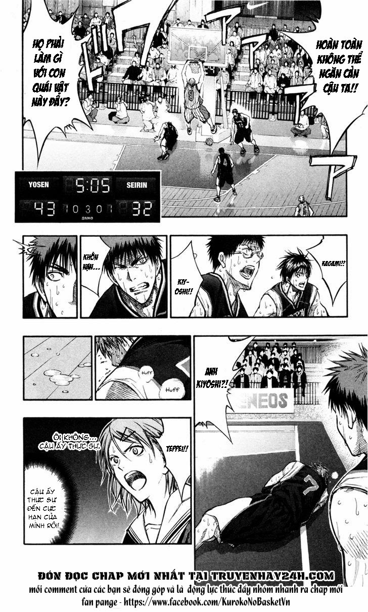 Kuroko No Basket chap 157 trang 15