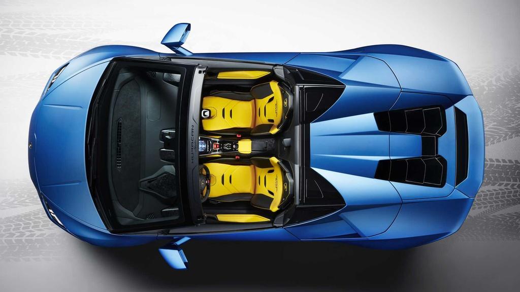 Siêu xe mui trần Lamborghini Huracan Evo RWD Spyder ra mắt