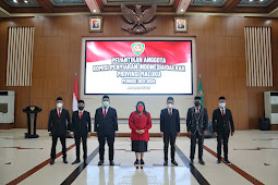 Barnabas Nathaniel Orno Lantik 7 Anggota Komisi Penyiaran Indonesia Daerah Maluku
