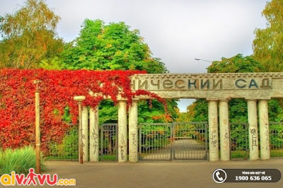 Vườn Bách thảo Moscow là khu vườn thực vật lớn nhất châu Âu.