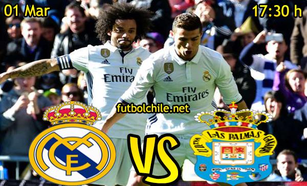 Ver stream hd youtube facebook movil android ios iphone table ipad windows mac linux resultado en vivo, online: Real Madrid vs Las Palmas