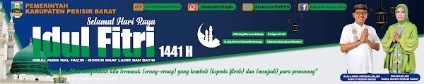 DESAIN SPANDUK IDUL FITRI 1441 HIJRIYAH TAHUN 2020