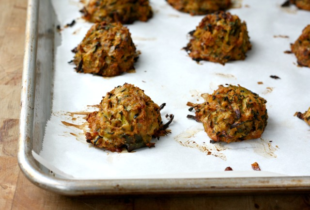 """Vegetarian Zucchini """"Meat"""" Balls a Main Dish Meal or Vegetable Side"""