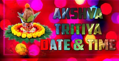 Akshaya Tritiya Date Time