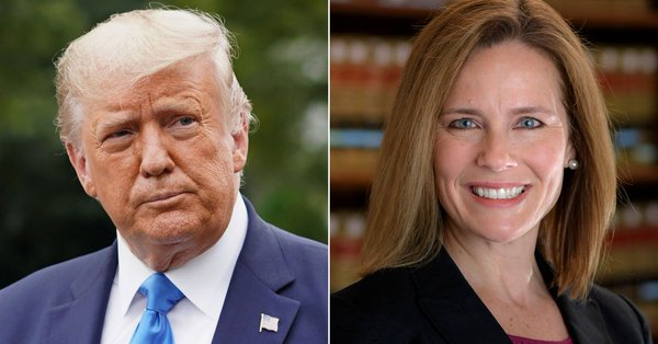 Trump officially nominates Amy Coney Barrett for the Supreme Court