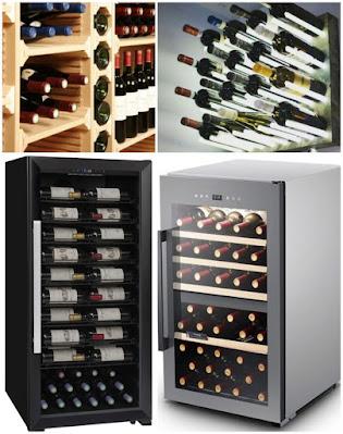cantinette frigo legno vino
