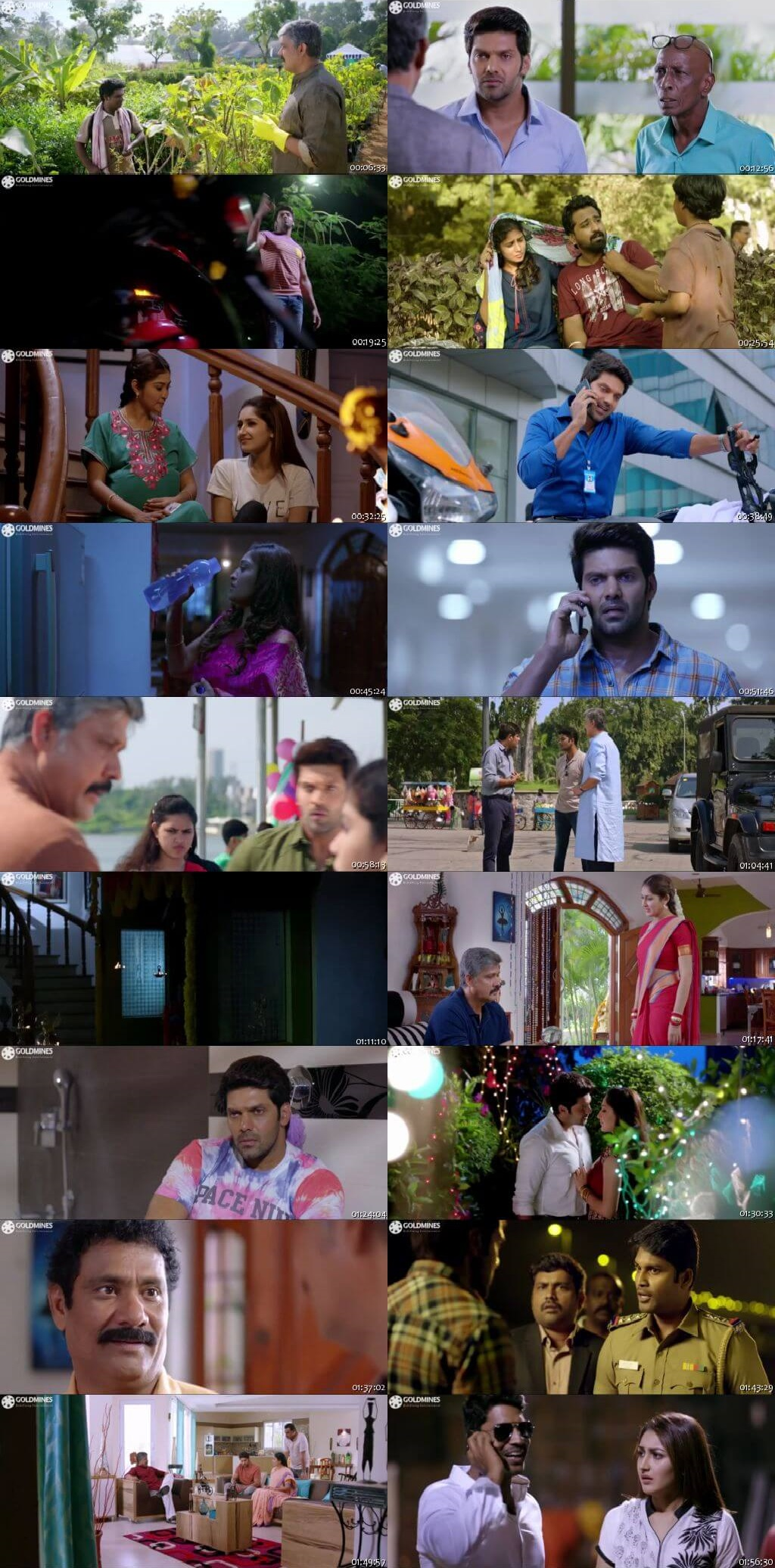 Screen Shot Of Tollywood Movie Gajinikanth 2019 Full Movie In Hindi Dubbed Free download 720P HD