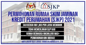 [RASMI] : Gaji RM1,000 Tanpa Slip Gaji Pun Boleh Beli Rumah SJKP B40 2021