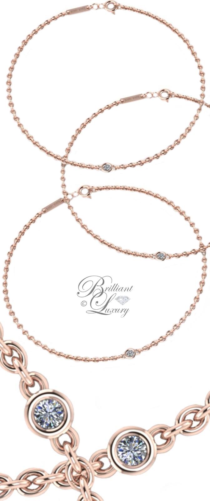 Brilliant Luxury ♦ Bobby White Diamonds In The Sky Bracelets