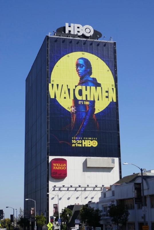 Giant Watchmen series premiere billboard