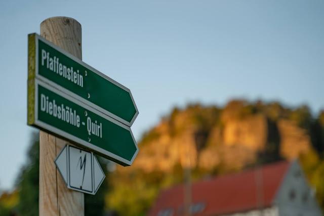 Malerweg Etappe 7 | Von Kurort Gohrisch bis Weißig | Wandern Sächsische Schweiz | Pfaffenstein – Festung Königstein 03