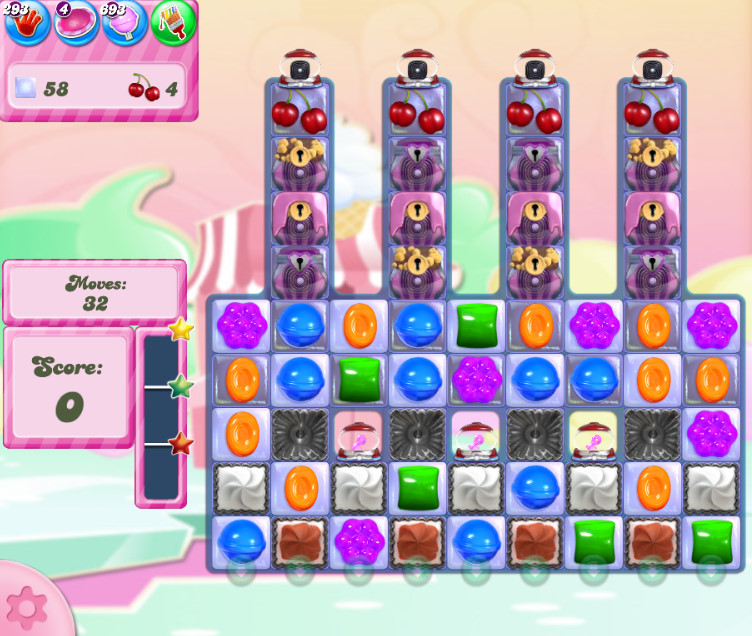 Candy Crush Saga level 2802